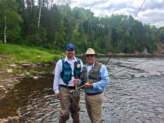 Salmon Classic 2019 Tom and Matt