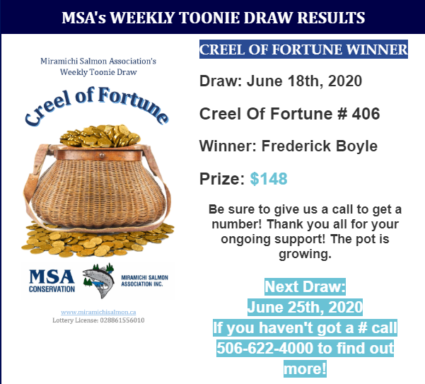 June 18th Draw